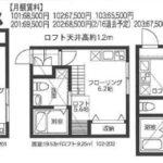 アパート間取り1K×6戸(間取)
