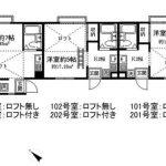 1R×6戸(間取)