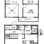 セキスイハウス施工の軽量鉄骨造(間取)