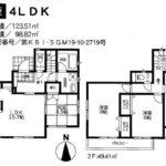 納戸付4LDK!(間取)