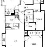 3LDK角部屋(間取)