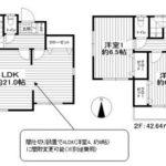 平成23年築の3LDK(間取)