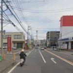 歩道付道路に面した区画(周辺)