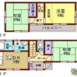 《オーナーチェンジ》厚木市鳶尾5丁目◆平成4年築の収益戸建◆利回り10%以上!