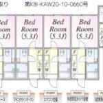 1K×12戸(間取)