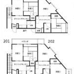 2K×4戸(間取)