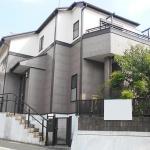 相鉄ホーム施工の注文住宅(外観)