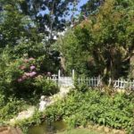 広い庭でガーデニング(外観)