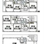 1階店舗事務所(間取)
